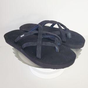 NEW Teva Olowahu Foam Strappy Flip Flop Sandal 10